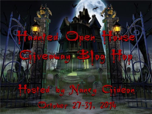 Haunted Open House Hop Graphic