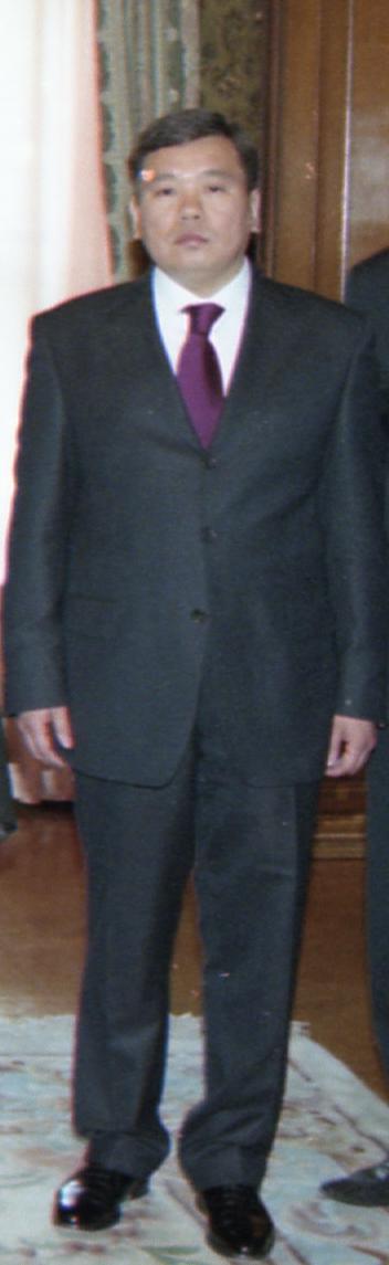 Қалмақ католигі Алексей Сергеевич Кекшаев.