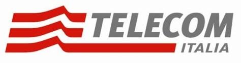 Telecom Italia's logo.