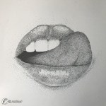 "Dantebus - ""lips-tecica puntinato a china"" Animor"
