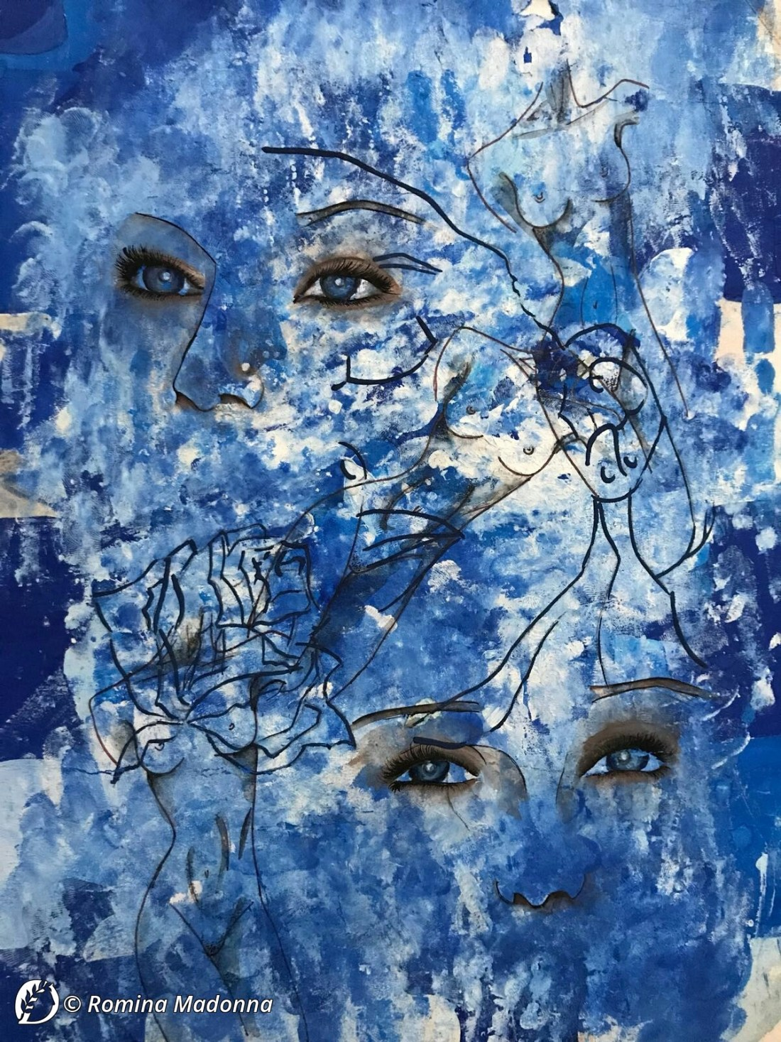 """Dantebus - """"tratto da ritratto di Madonna personalizzato"""" Romina Madonna"""