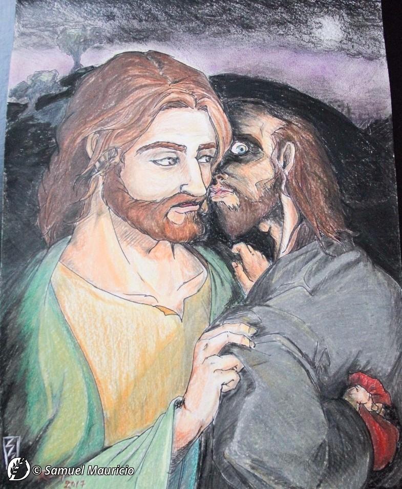 """Dantebus - """"Il bacio di Giuda"""" Samuel Mauricio"""