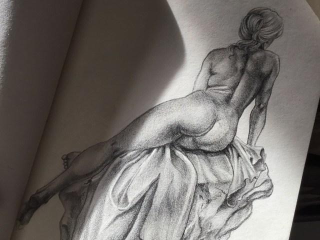 """Dantebus - """"Schizzo di nudo"""" Ambra Colombani"""