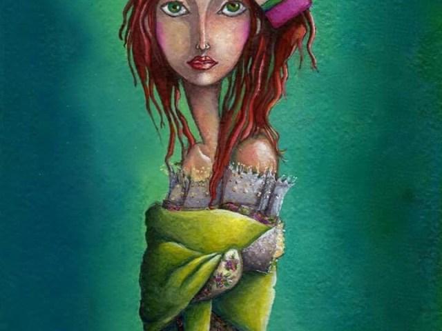 "dantebus - ""Fanciulla con fiocco"" Antonia Parisi"