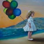 """Dantebus - """"Palloncini in riva al mare"""" Ivana Storto"""