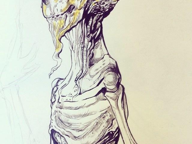 """Dantebus - """"Concept per progetto sci-fi"""" XieRì"""