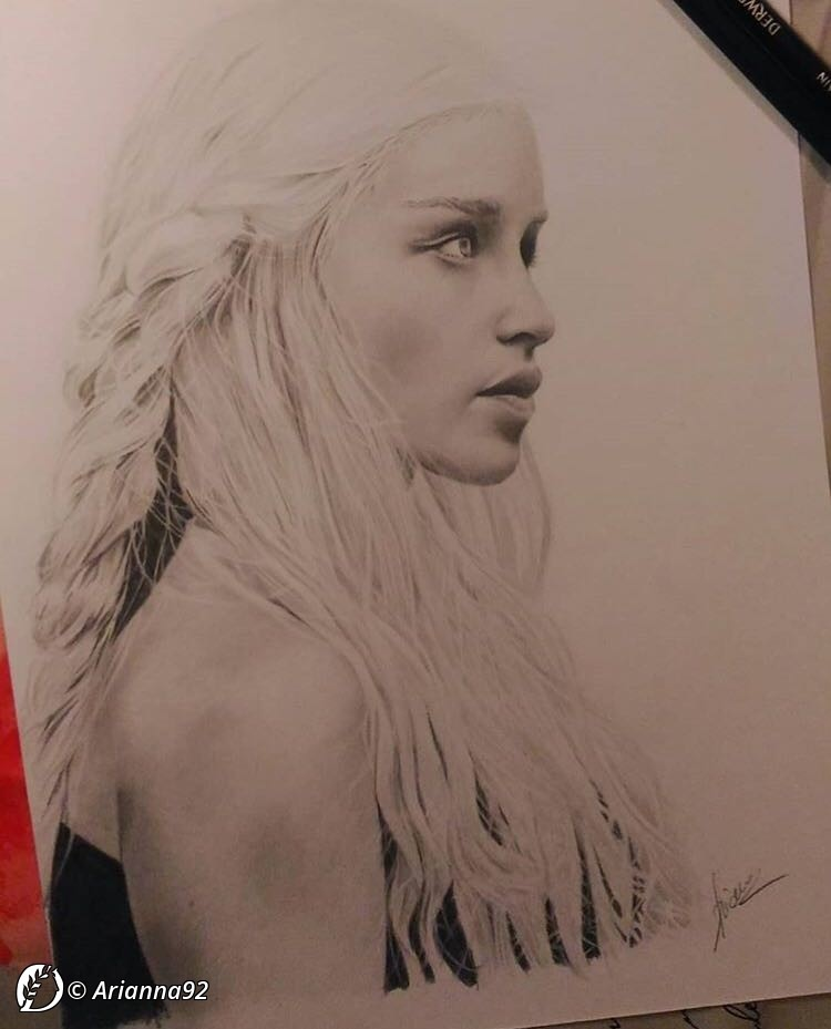 "Dantebus - ""Khaleesi..the moon of my life."" Arianna92"