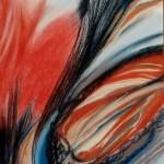 """Dantebus - """"Red inpressions"""" Nicoletta Massini Magistretti"""