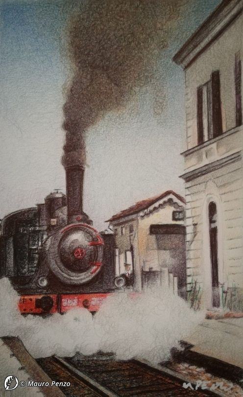 Dantebus - Mauro Penzo - Nostalgica Locomotiva