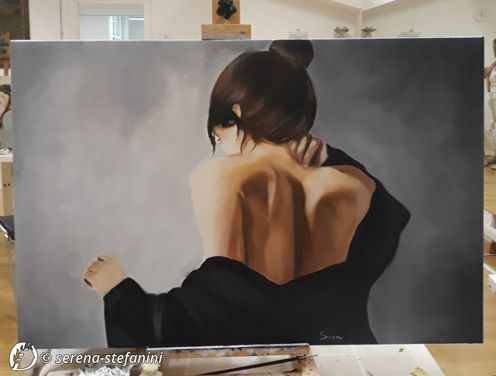 Dantebus - Serena Stefanini - Donna di spalle