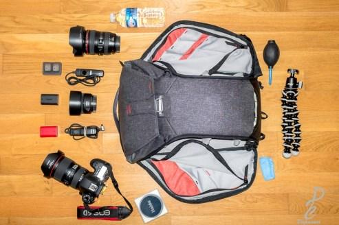 Mon équipement Peak design everyday backpack 20L