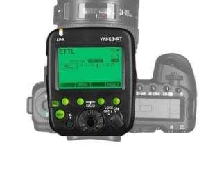 Yongnuo YN E3 RT transmetteur radio sans fil flash matériel photo materiel photo