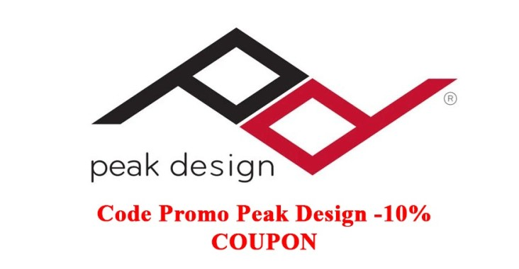 Peak Design discount code coupon off