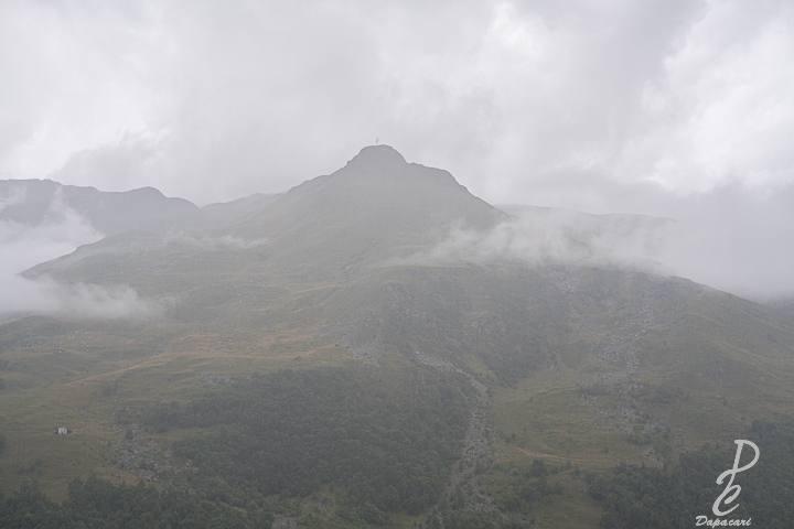 vue montagne brumeuse les menuires en savoie Fujifilm XF 27mm F2.5