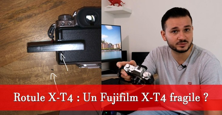 Fujifilm X-T4 fragile ?