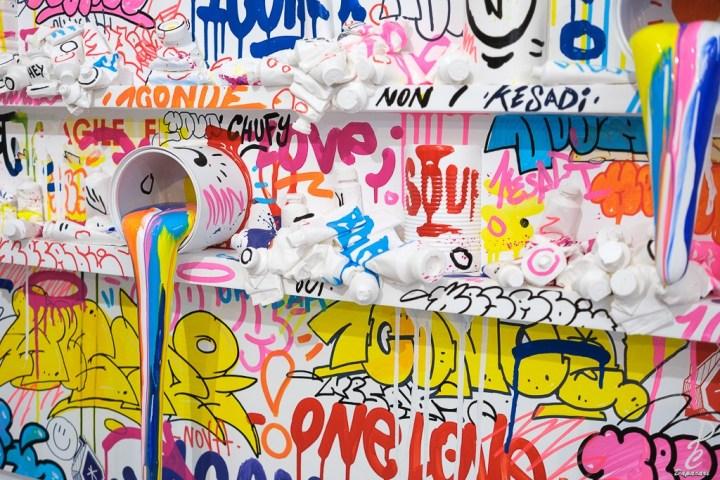 Tag peinture zoo xxl à Lyon 2020