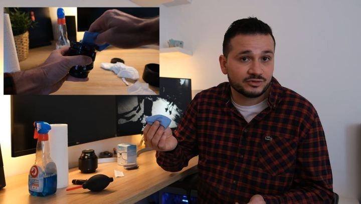 lingette microfibre pour appareil photo