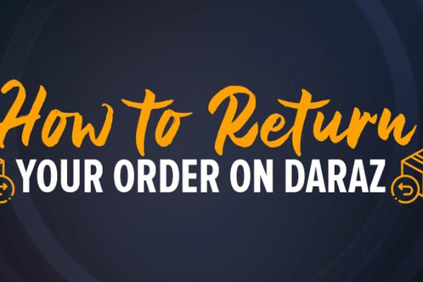 how to return order on daraz