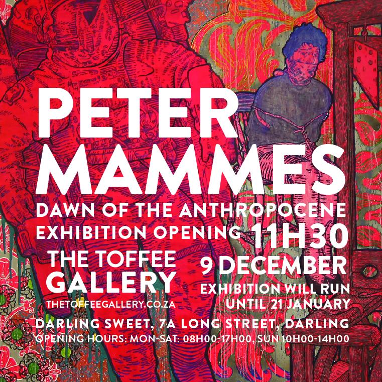 Peter Mammes Exhibition Invite