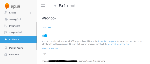 Fulfillment Webhook