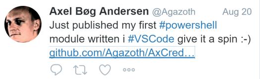 Axel Agazoth tweet