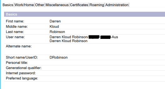 Synchronizing Passwords from Active Directory to the IBM/Lotus
