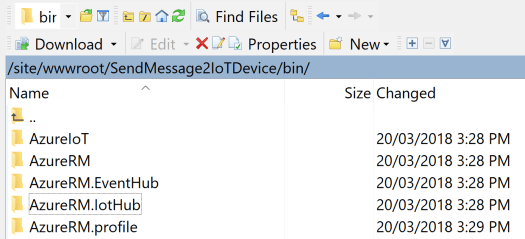 Azure Function PS Modules.PNG