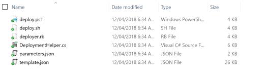 Azure Zip Push Deploy - Expand the Deploy Script Archive