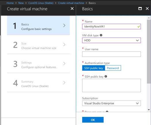 Deploying a SailPoint IdentityNow Virtual Appliance in Azure