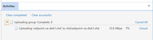 Upload VHD 2