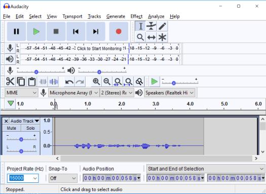 Capture Audio