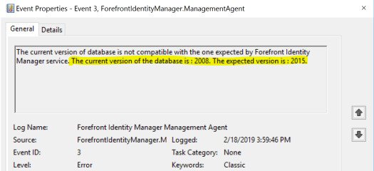 Current version of the database is 2008..PNG