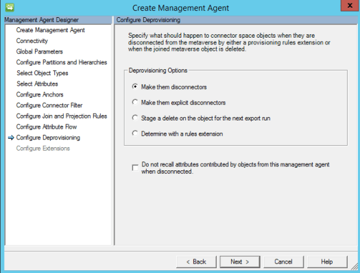 Dynamics 365 Finance & Operations Management Agent Deprovisioning Logic