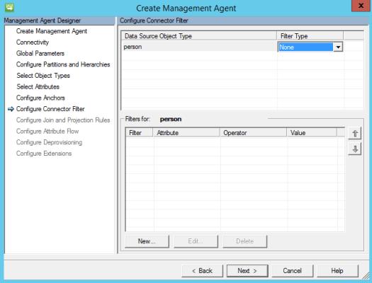 Dynamics 365 Finance & Operations Management Agent Filter