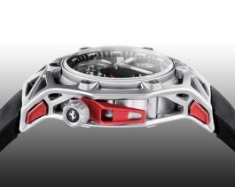 HublotTechframe Ferrari Tourbillon Chronograph Titan