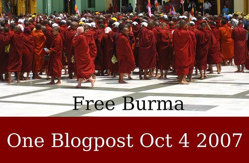 One Blogpost for Burma