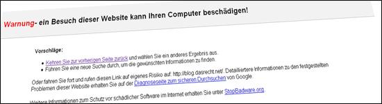 "Bild zu Beitrag - ""Google Fail"""