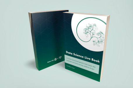 Data Science Live Book (open source) ~ new big release! 200-pages