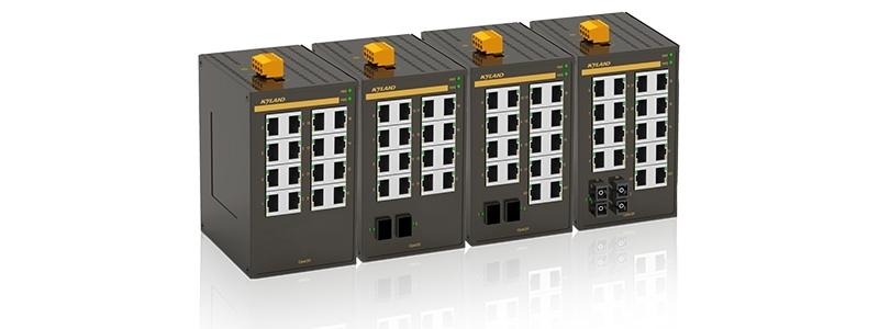 Kyland completa su gama Opal de switches Entry-level con modelos de 20 puertos y full gigabit de 5 y 10 puertos