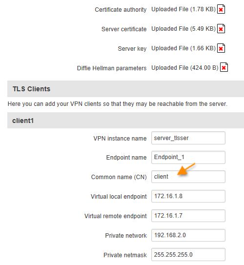 TLS client - ¿ Cómo usar un router Teltonika como un terminador VPN ?