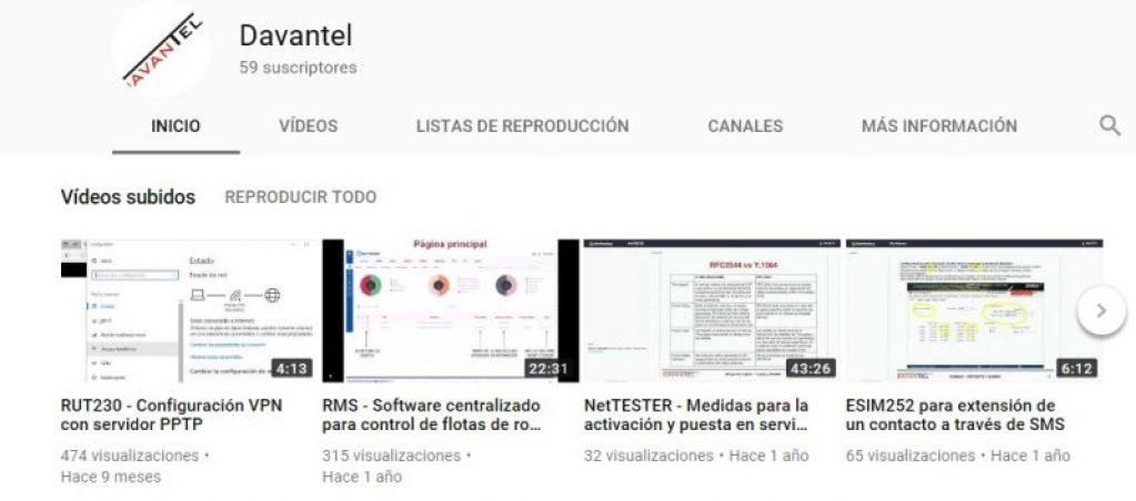¿ Ya conoces nuestro canal en YouTube ?