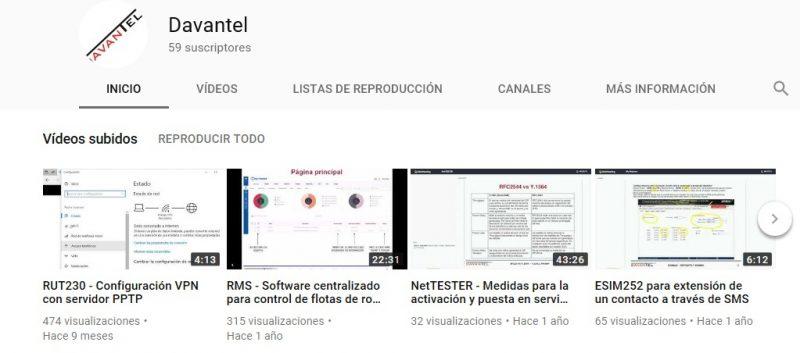 canal youtube davantel - ¿ Ya conoces nuestro canal en YouTube ?