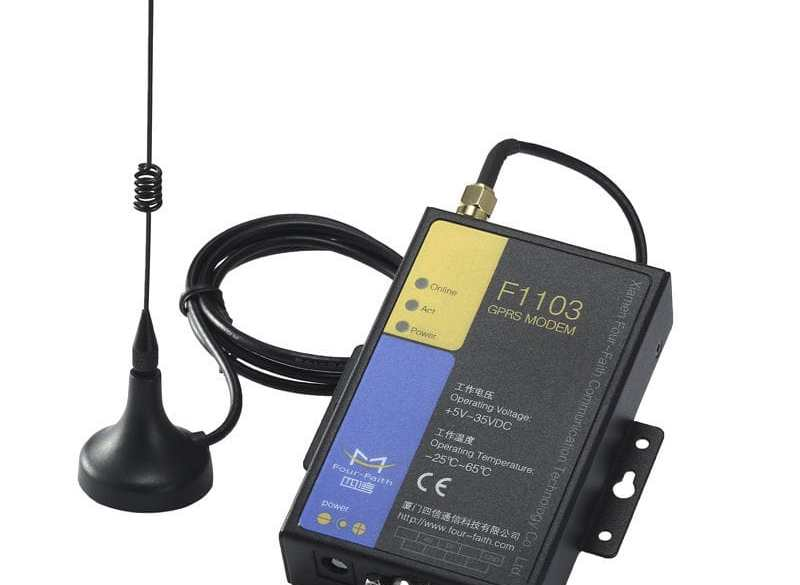 ¿ Cómo configurar un módem GSM F1103 para recibir llamadas de datos CSD ?