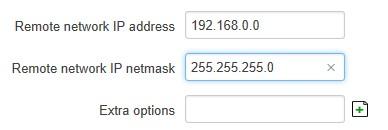 client tun remote network - ¿ Cómo crear una VPN con OpenVPN y routers Teltonika ? (III)