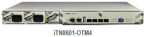 iTN8601 OTM4 - Fibra óptica - CWDM y DWDM