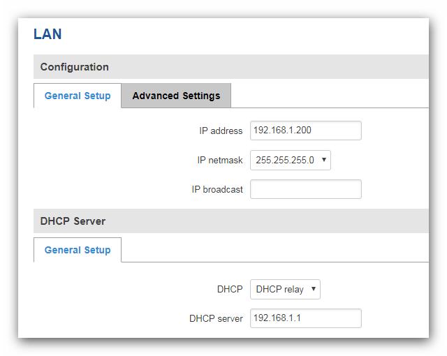DCHP relay - ¿ Cómo configurar nuestro router como un Access Point industrial ?