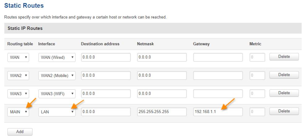 main route over lan - ¿ Cómo configurar nuestro router como un Access Point industrial ?