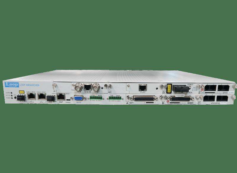 AM3440-E – Nodo de acceso multiservicio TDM/IP