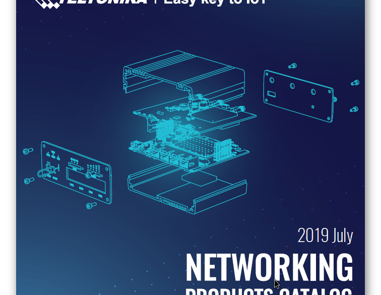 Catálogo de soluciones Networking de Teltonika