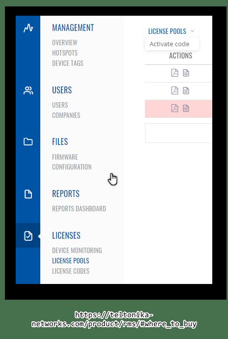 activate license code - ¿ Cómo funcionan las licencias en RMS ?